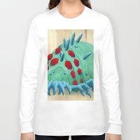 nausicaa Long Sleeve T-shirts featuring crystal ohmu by terastar