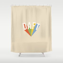 Letters : Daft Shower Curtain