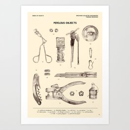 Perilous Objects Art Print