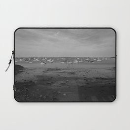 From the Shore - Plymouth Massachusetts Shoreline Laptop Sleeve