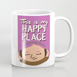 This is my happy place - Music Coffee Mug