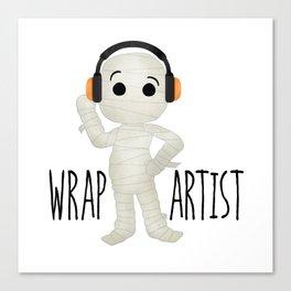 Wrap Artist | Mummy Canvas Print