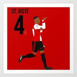 St. Juste - Feyenoord Art Print