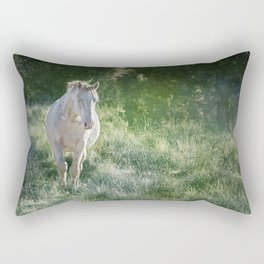 Ghostly Beauty Rectangular Pillow