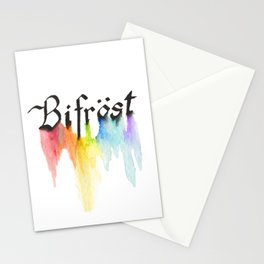 Bifrost the road to Valhalla Stationery Cards