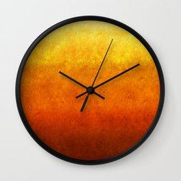 """""""Sabana Dawn Light"""" Wall Clock"""