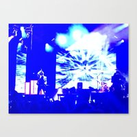 panic at the disco Canvas Prints featuring Charlotte Panic! At The Disco by Melissa Mabe