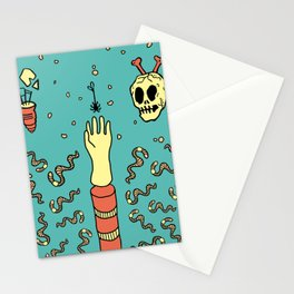 nowhere fast Stationery Cards
