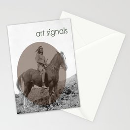 art signals  Stationery Cards