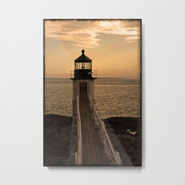 Lighthouse- 2 Metal Print