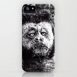 bored monkey wsbw iPhone Case