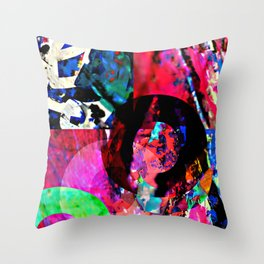Crossing Water Street Throw Pillow