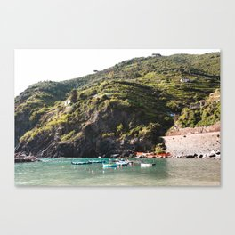 Italian Coast Canvas Print