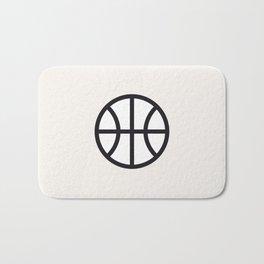 Basketball - Balls Serie Bath Mat