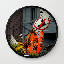 That's The Signpost Up Ahead... Wall Clock