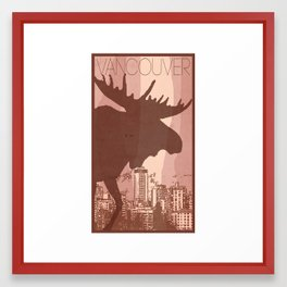 Every City Has Its Creature -Vancouver  Framed Art Print