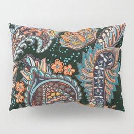 Boho Floral Pattern Pillow Sham