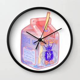 Beetle Juice Wall Clock