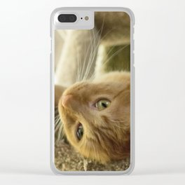 Lazy days Clear iPhone Case