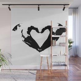 La voix du coeur | 心臟的聲音 Wall Mural
