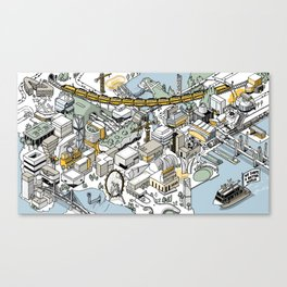 Arup Projects 2016 Canvas Print