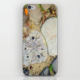 Hippo Camp iPhone Skin