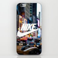 nike iPhone & iPod Skins featuring Nike by Pink Berry Patterns