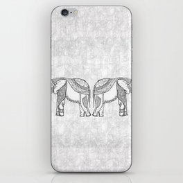 Indian Elephants iPhone Skin