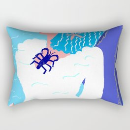 Thetis the Nereid Rectangular Pillow
