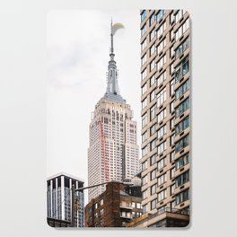 Empire State Building in New York Cutting Board