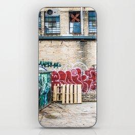 Around Back iPhone Skin