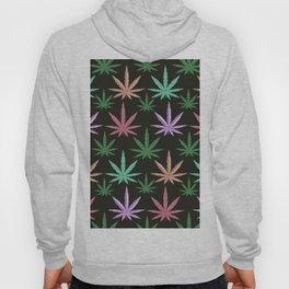 Marijuana Muted Colors Hoody