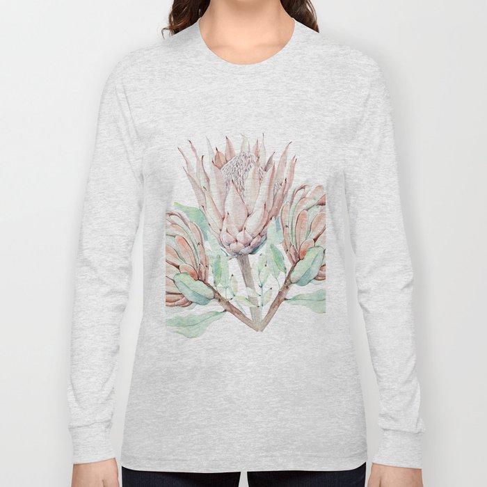 Protea #society6 #buyart Long Sleeve T-shirt