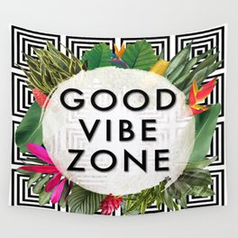 (((( Good Vibes )))) Wall Tapestry