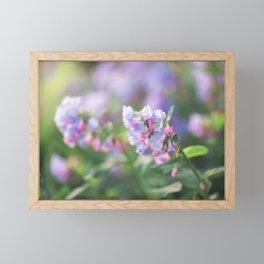 Bluebells are Blooming Framed Mini Art Print