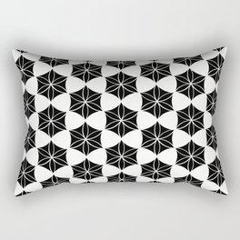 Flower of Life-Moroccan mosaic Rectangular Pillow