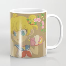 Retro Sailor Moon Coffee Mug
