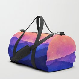 Cobalt Mountains Duffle Bag