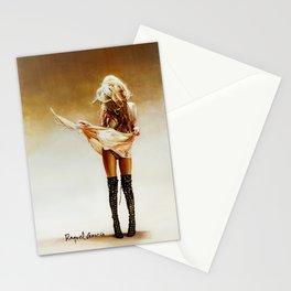 Con faldas y a lo loco! Stationery Cards
