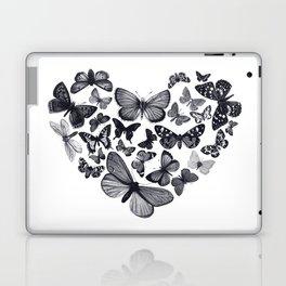 BUTTERFLY LOVE MONO Laptop & iPad Skin