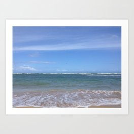 Ocean Breeze Art Print