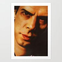 nick cave Art Prints featuring Nick Cave  by Bilistik Art