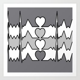 BIG HEART, MAN Art Print