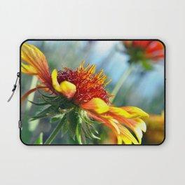 Arizona Sun Flower Macro Photo Laptop Sleeve