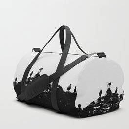 Birds on the shore Duffle Bag