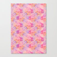 psychedelic succulent Canvas Print