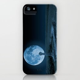 Celtic Cross and Moon iPhone Case