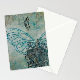 Wings, Nest, and Chrysalis Stationery Cards