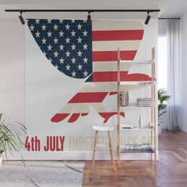 4th Of July Independence Day Wall Mural