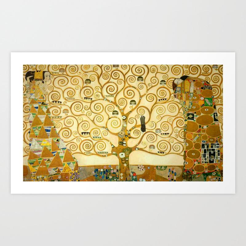 The Tree of Life Spaghetti Top Gustav Klimt